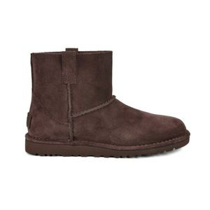 NWT UGG classic unlined purple leather boots 5